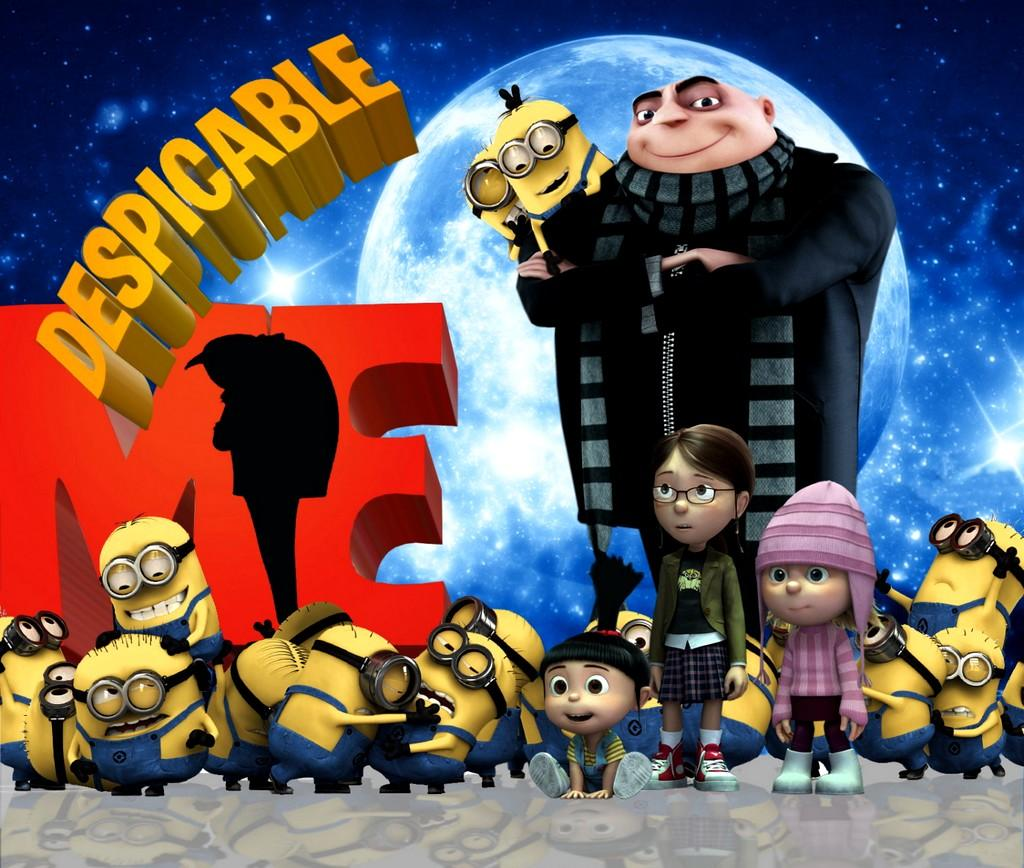 Despicable Me (2010)   downloadfreemoviess